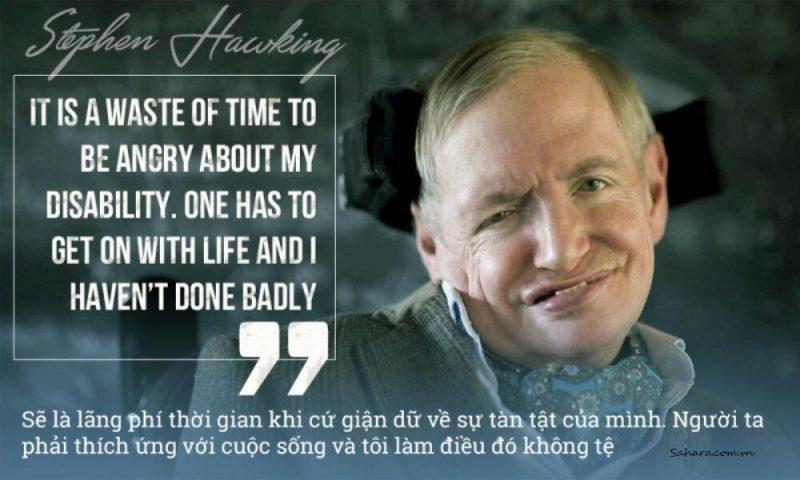 Những câu nói hay của Stephen Hawking bằng tiếng Anh